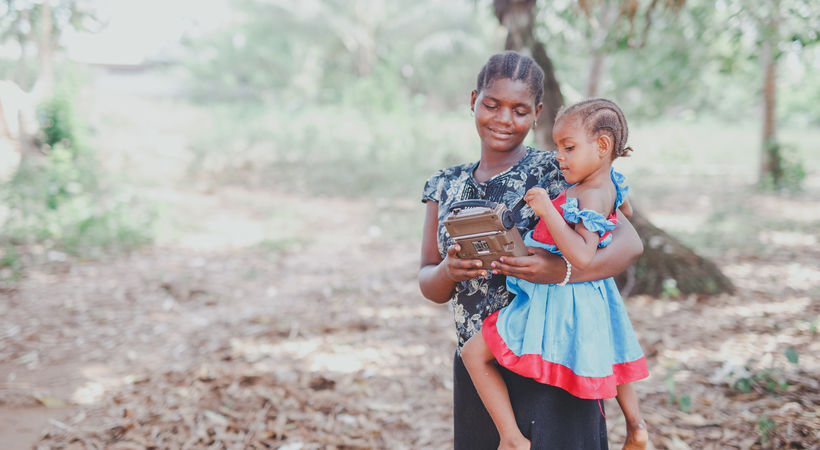 Radioprogrammer berger liv på Zanzibar